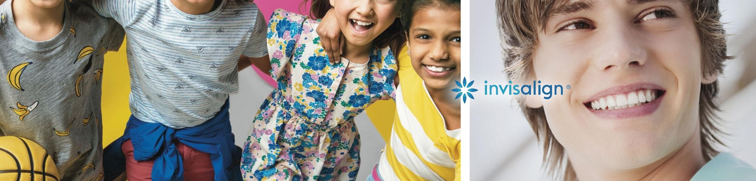 ortodoncia Invisalign niños y adolescentes